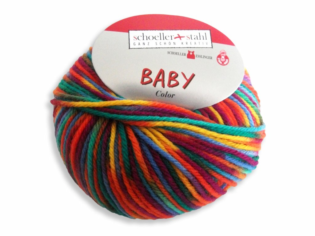 Baby Merino Color [100% vlna merino ] Ručně pletací příze