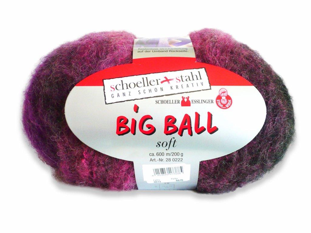 Big Ball Soft [67% polyakryl, 14% střižní vlna, 10% polyester, 9% mohér]