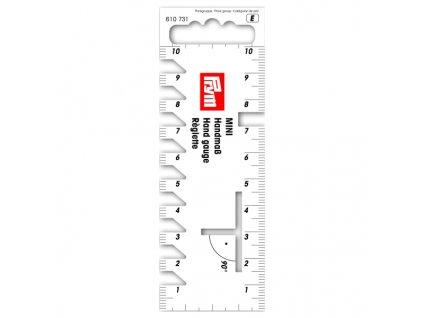 Pravítko příruční Mini 10 cm 610731