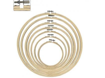 Bambusový vyšívací kruh, 13cm
