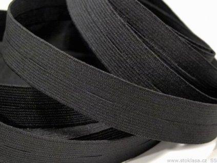 Pruženka dirková 28212 šíře 1,7cm černá