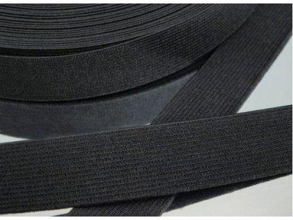 Pruženka oděvní 367025 š.2.5cm černá