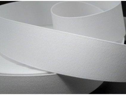 Pruženka oděvní 367040 š.4cm bílá