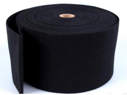 Pruženka oděvní šíře 100mm černá 367100
