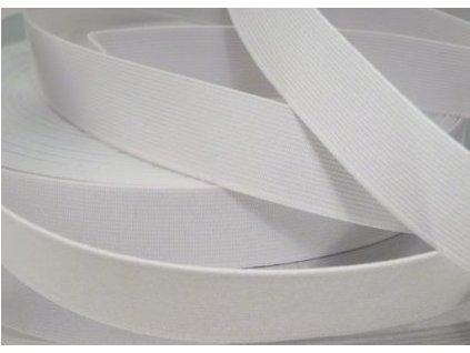 Pruženka oděvní šíře 15mm bílá 905015