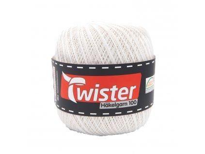 Twister Häkelgarn 100 [100% bavlna] Ručně pletací příze na krajky