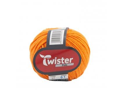 Twister Polo [59% bavlna, 41% polyakryl] Ručně pletací příze