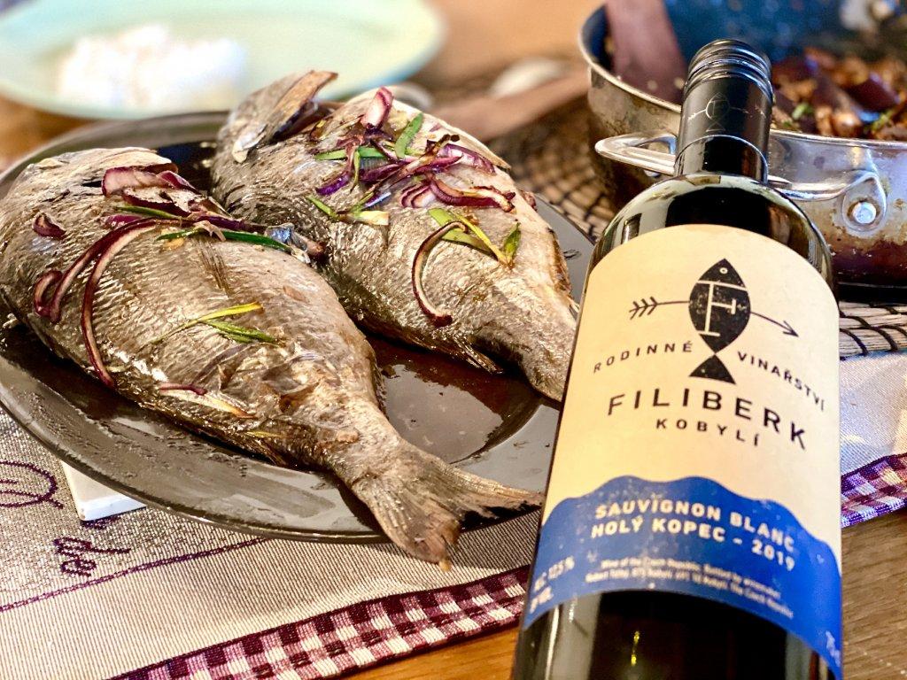 filiberk sauvignon ryby