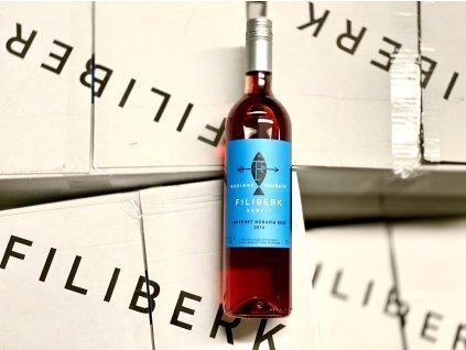 filiberk moravka rose lahev karton