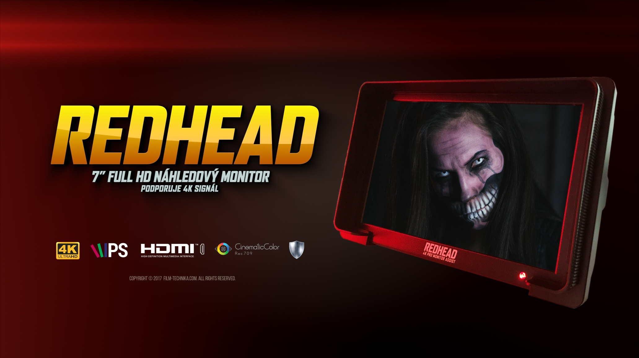 RedHEAD náhledový monitor