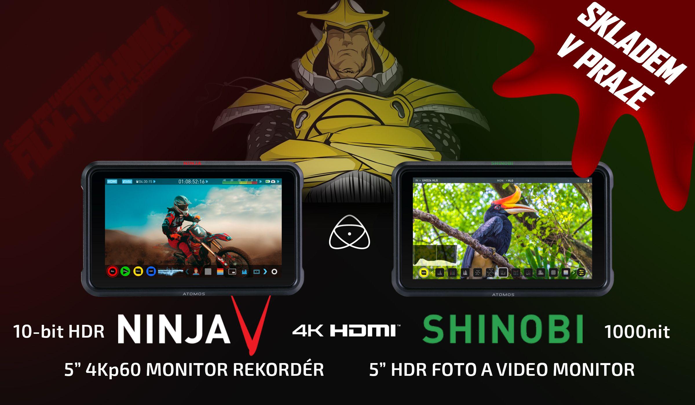 Atomos Ninja V a Shinobi