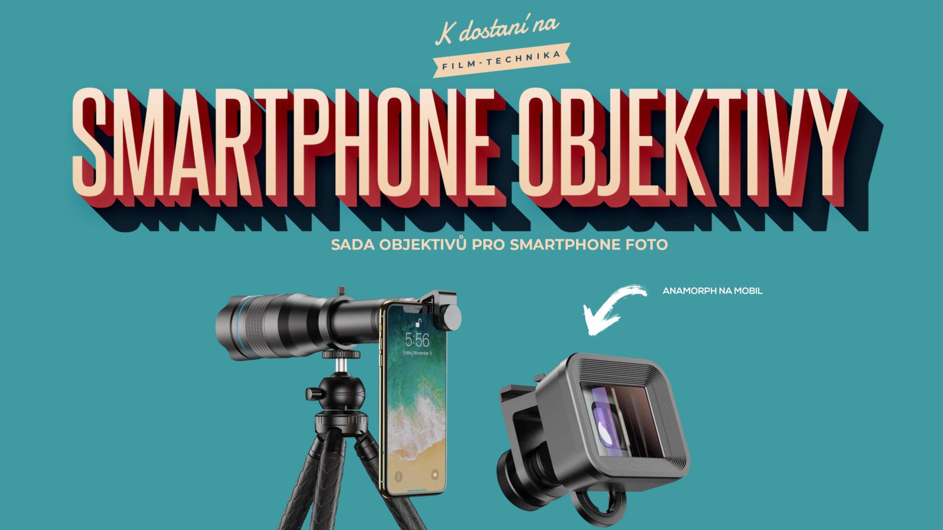 Smartphone objektivy
