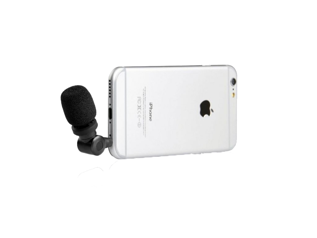 Smartphone mikrofony