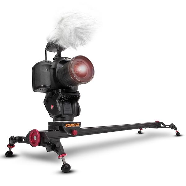 Slidery, kamerová jízda