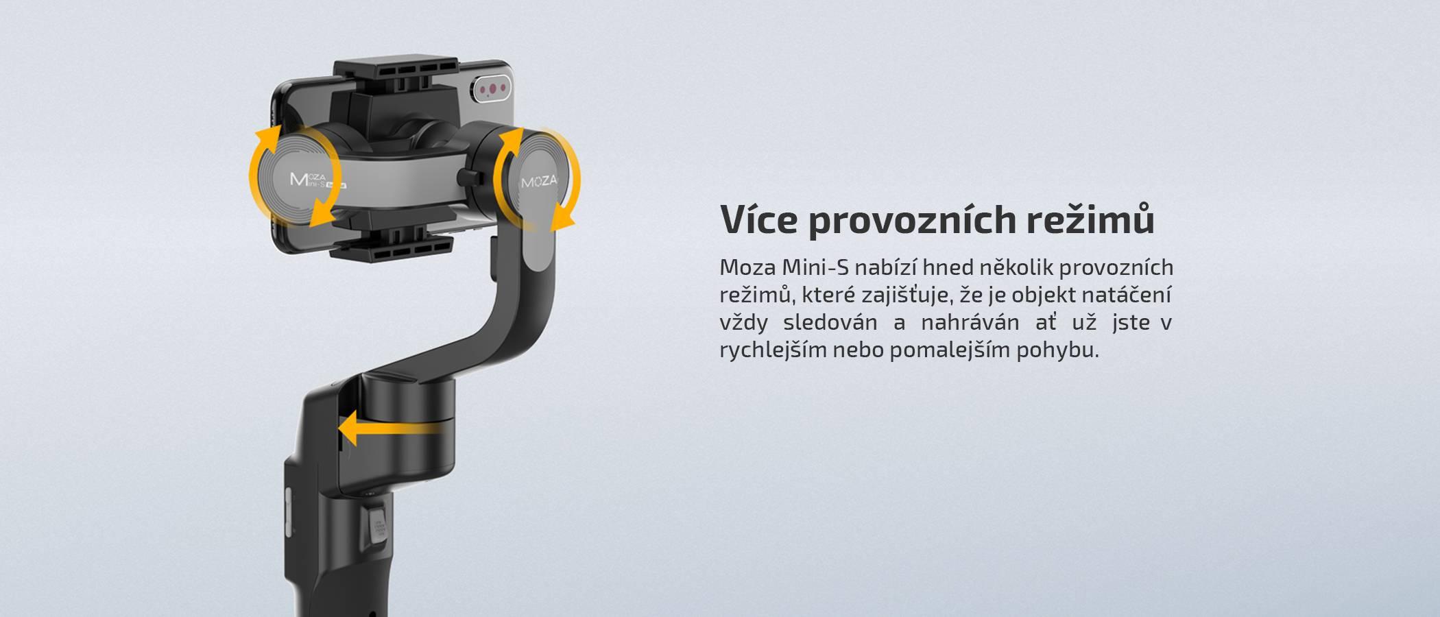 film-technika-gudsen-moza-mini-s-gimbal-pro-smartphony-více-provozních-režimů
