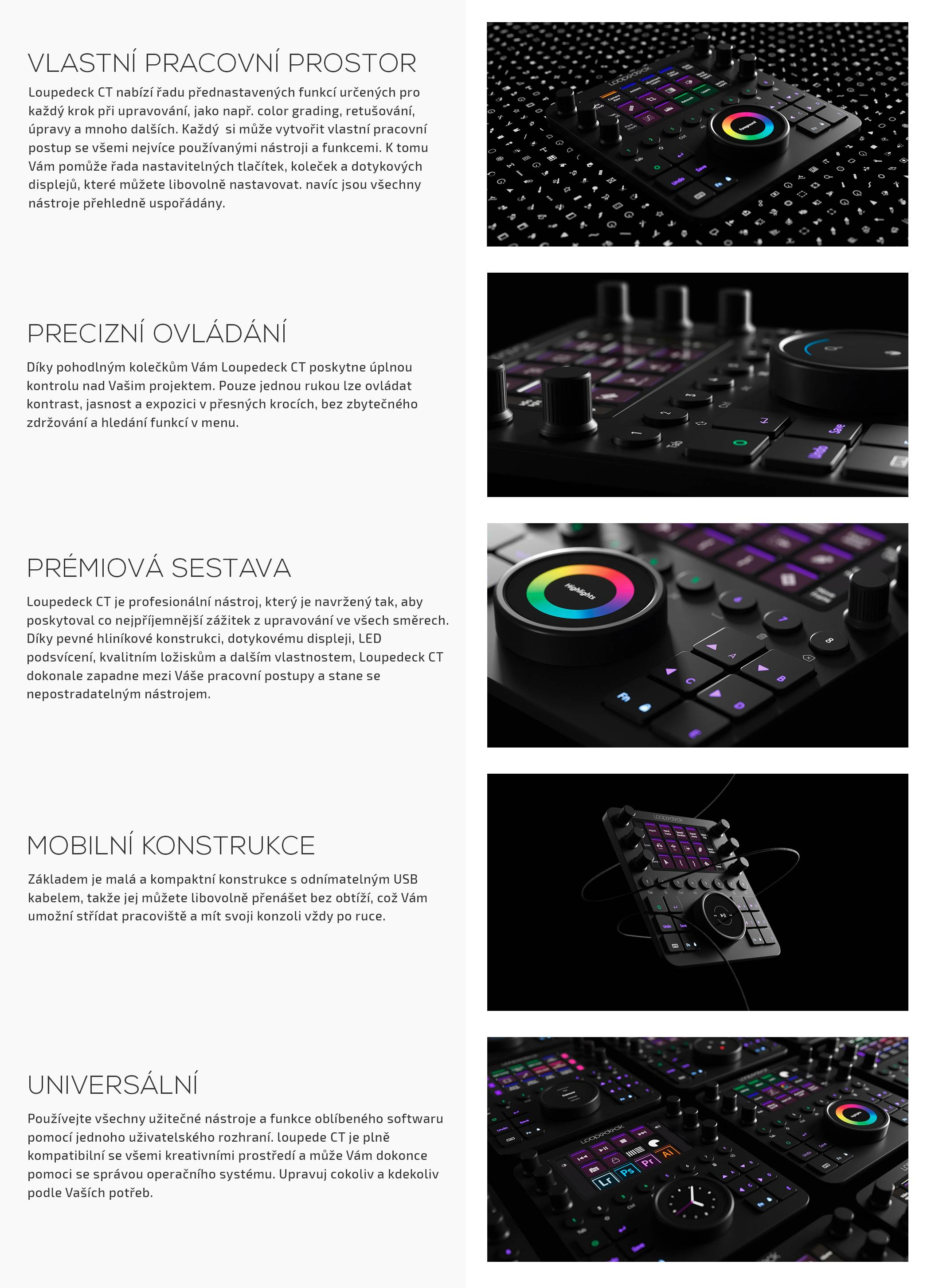 film-technika-loupedeck-creative-tool-editační-konzole-vlastnosti