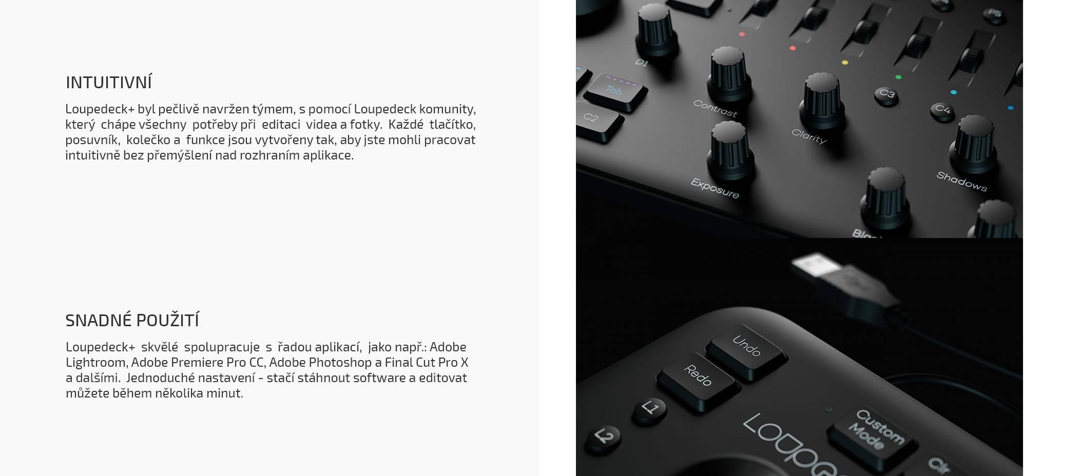 film-technika-loupedeck-plus-konzole-pro-úpravu-fotrk-a-videa-intuitivní