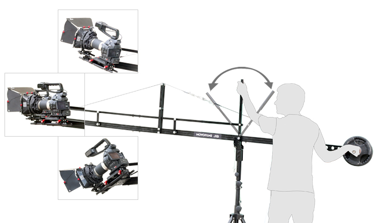 Proaim-14ft-Jib-Arm-with-Jib-Stand-(P-14-JS)-4