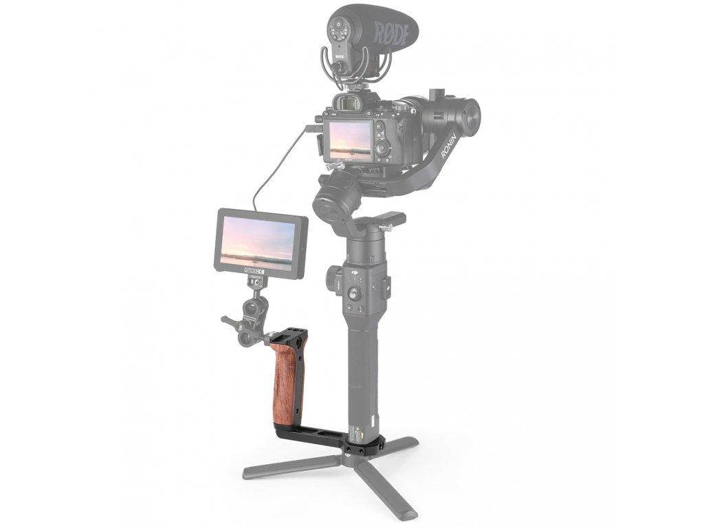 SmallRig Universal Wooden Side Handle for RoninSZhiyun Crane Series Handheld Gimbal 2222 1 20481.1558922042