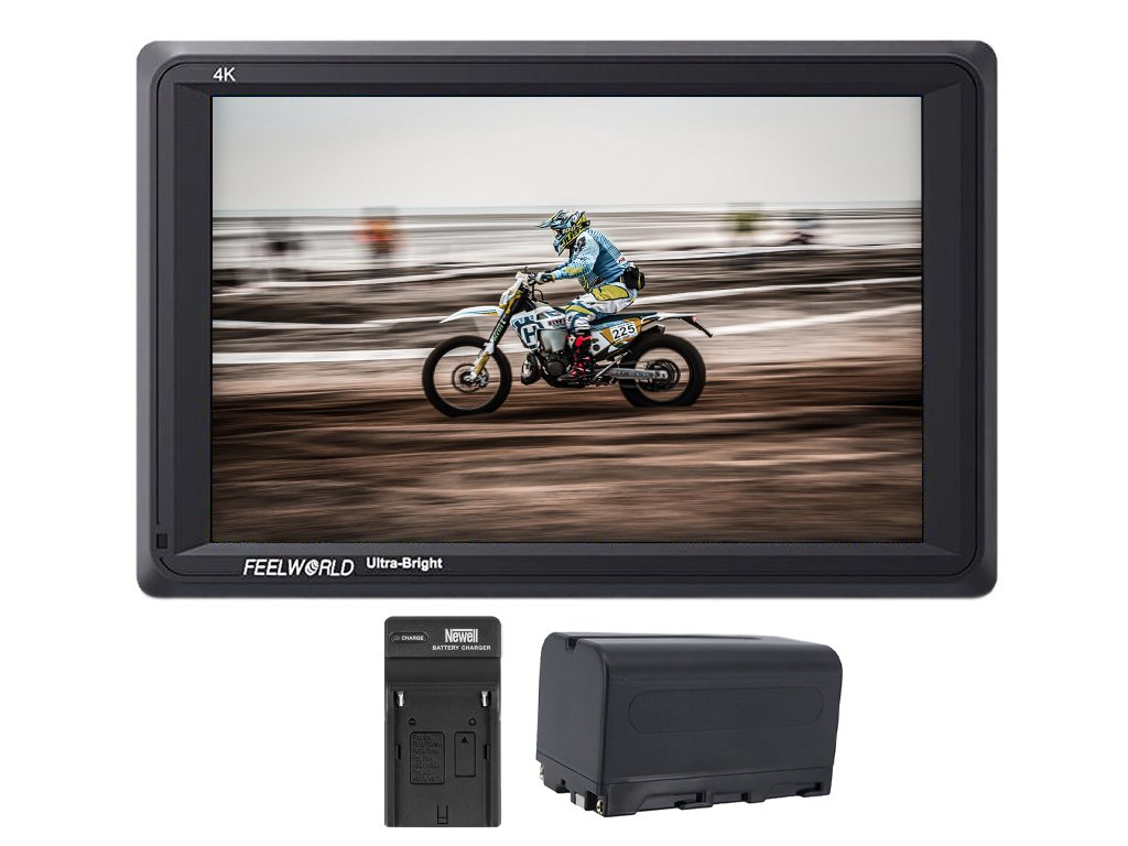 "Feelworld FW279 7"" 2200nit 4K HDMI náhledový monitor"
