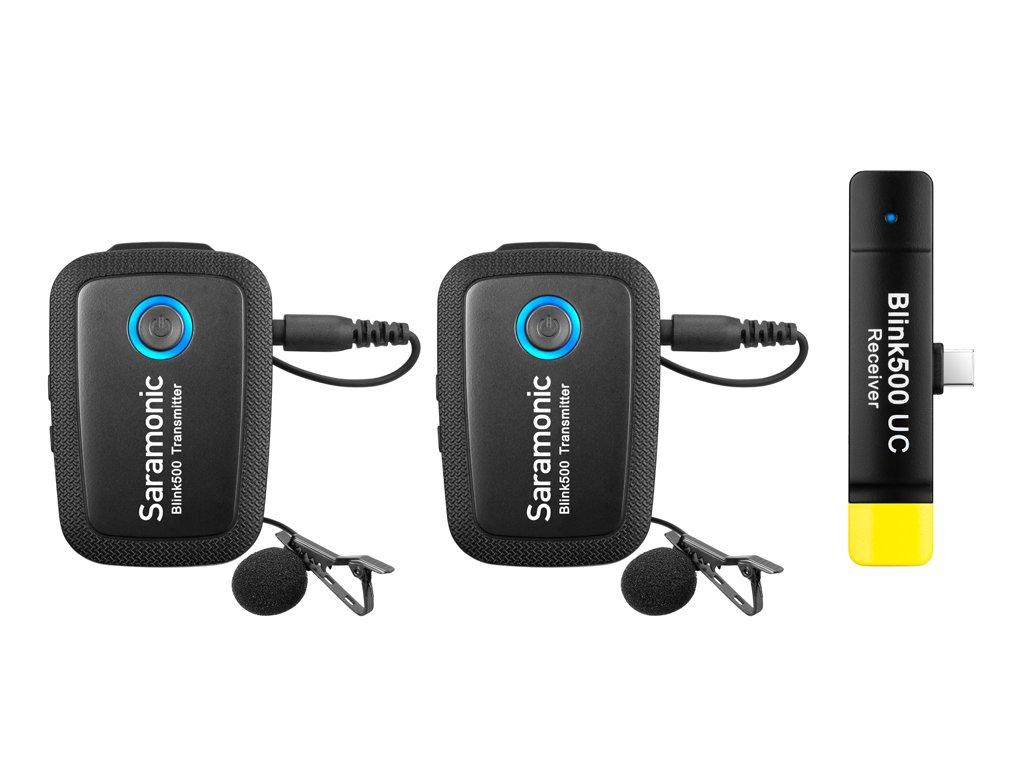 Saramonic BLINK500 B6 bezdrátový audio systém (TX+TX+RX UC)
