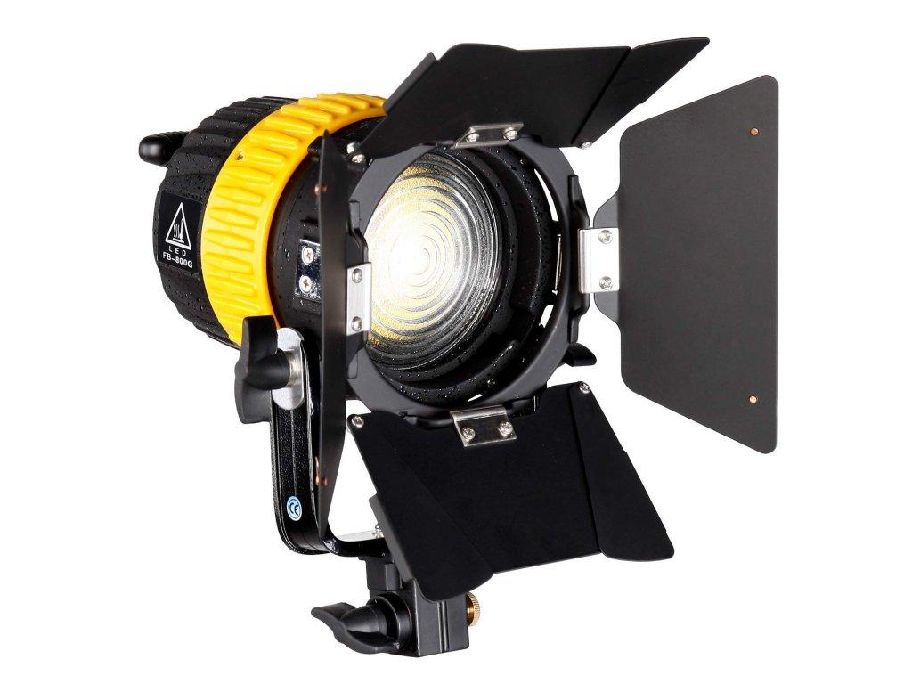 Fresnel světlo 80W bodové 5500K LED (V-Mount)