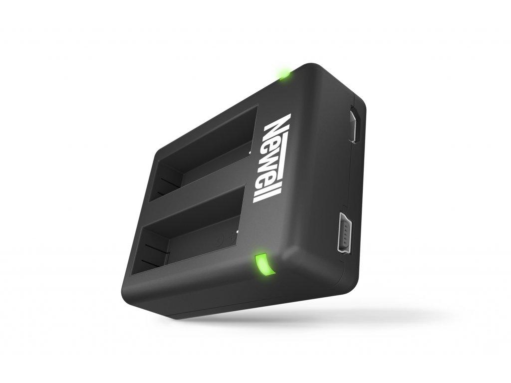 Nabíječka AHDBT-401 baterií Dual USB Mini Charger pro GOPRO Hero4