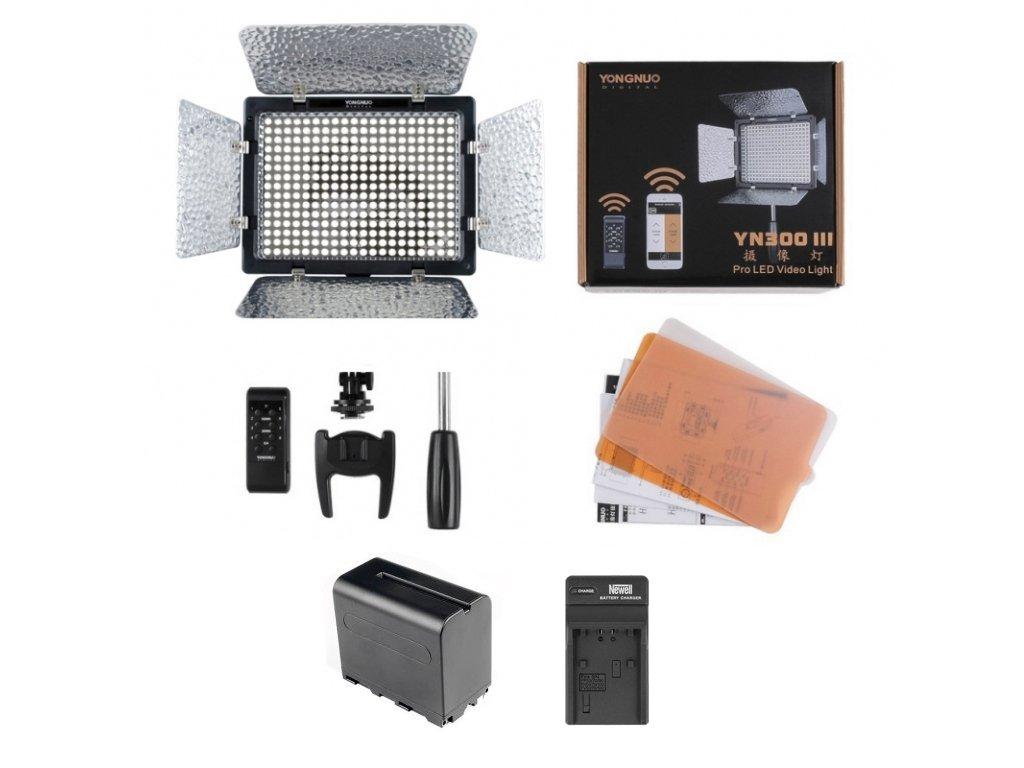 Yongnuo YN300 III kamerové LED světlo (3200-5500K)
