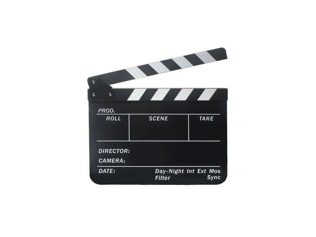 Filmová klapka černá CBP-FCBII
