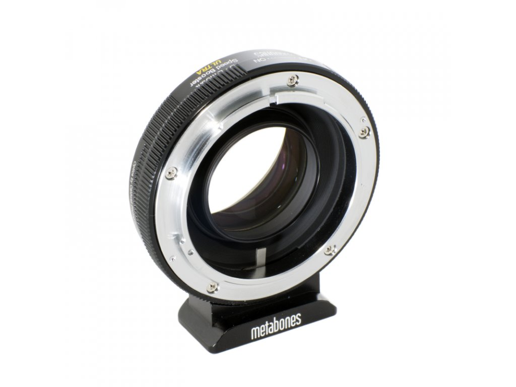 Metabones Speed Booster ULTRA adaptér pro Canon FD na Sony E-Mount/NEX