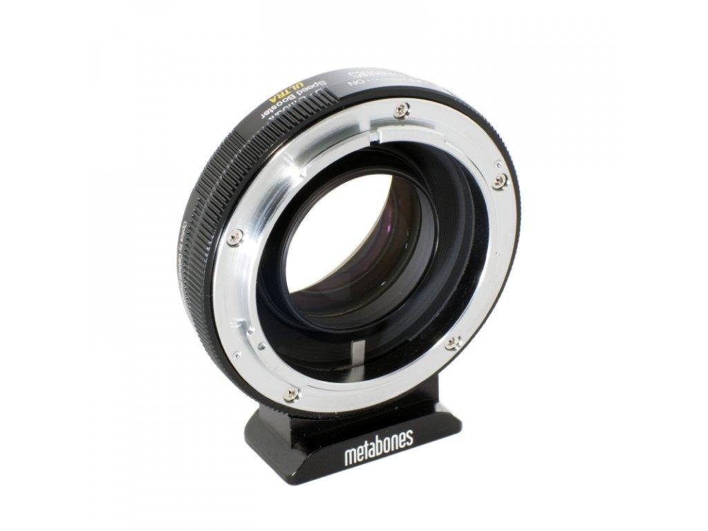 Metabones Speed Booster ULTRA 0,71x adaptér z Canon FD na Sony E