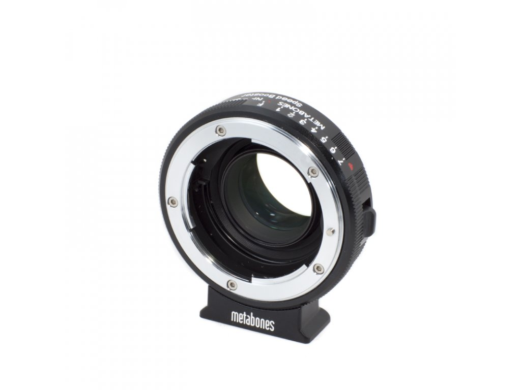 Metabones Speed Booster 0,64x adaptér z Nikon G na BMCC