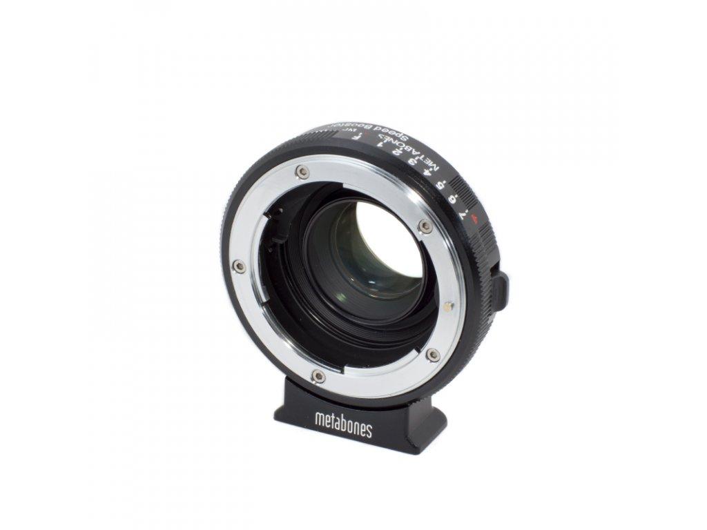Metabones Speed Booster 0,58x adaptér z Nikon G na BMPCC