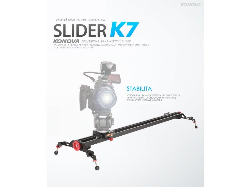Konova Slider K7 120 cm