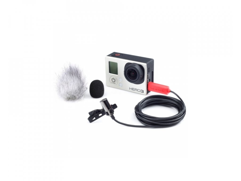 Saramonic SR-GMX1 klopový mikrofon pro GoPro