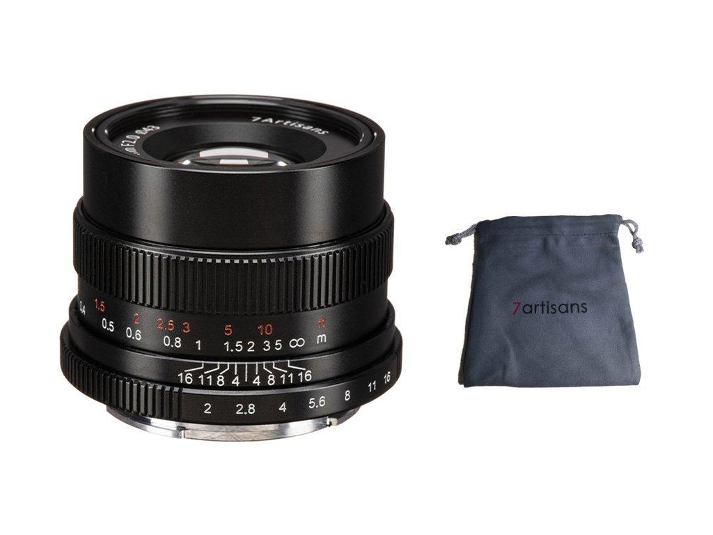 7Artisans 35mm F/2,0 Full frame objektiv (Sony E)