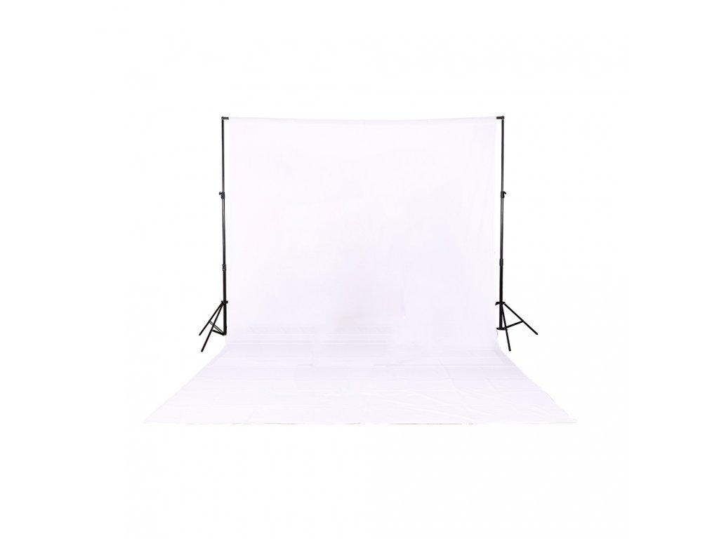 Fotografické plátno 100% bavlna 2x3m (bílé) foto pozadí