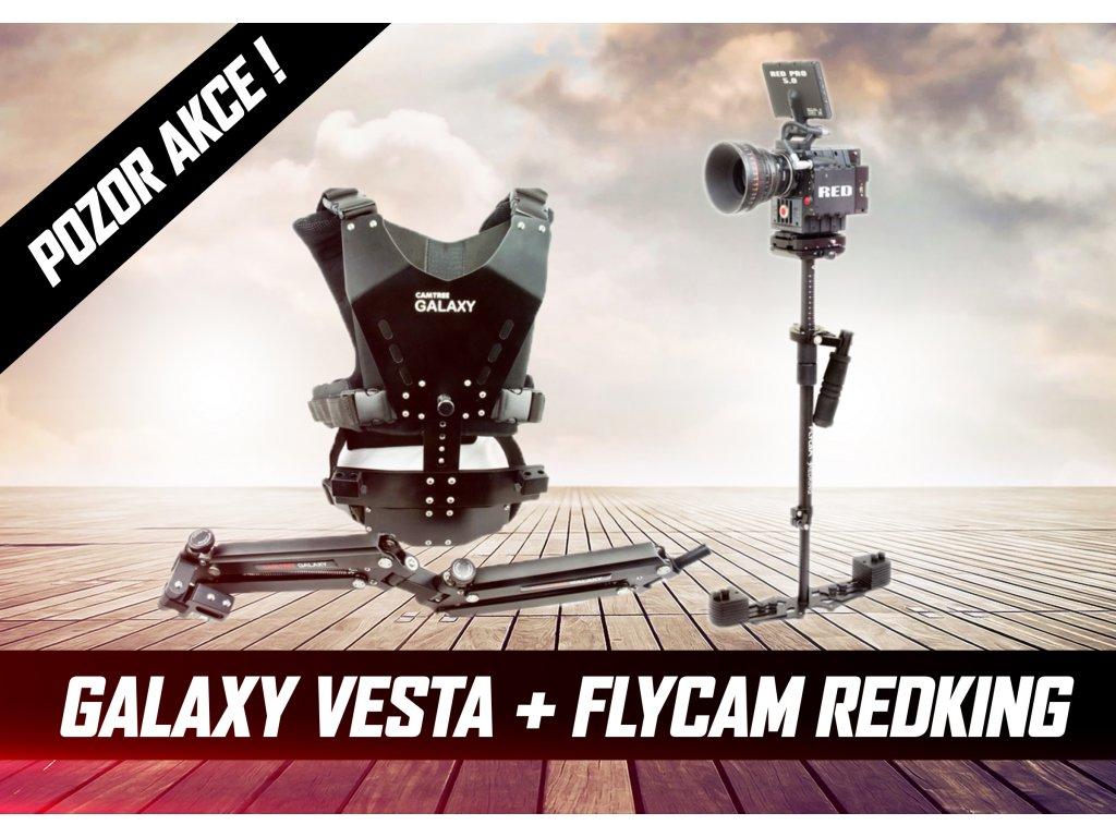 Steadicam Flycam RedKing + Galaxy vesta