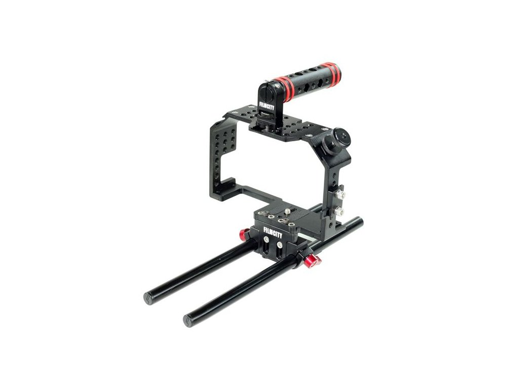 Filmcity kamerová klec pro GH4/GH5 a A7/A7r/A7s