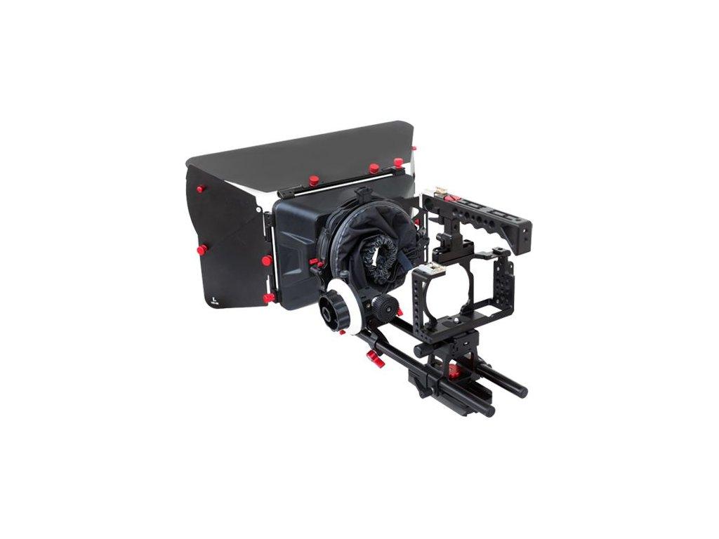 filmcity dslm camera cage shoulder mount kit fc a6360 smk 1111
