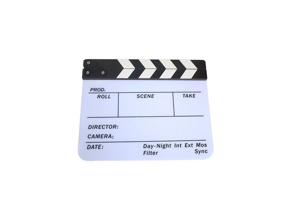 Filmová klapka CB-FCBII (bílá)