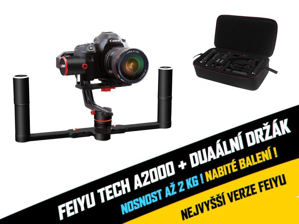 Feiyu tech A2000 + dual (verze 2018 2,5kg nosnost)