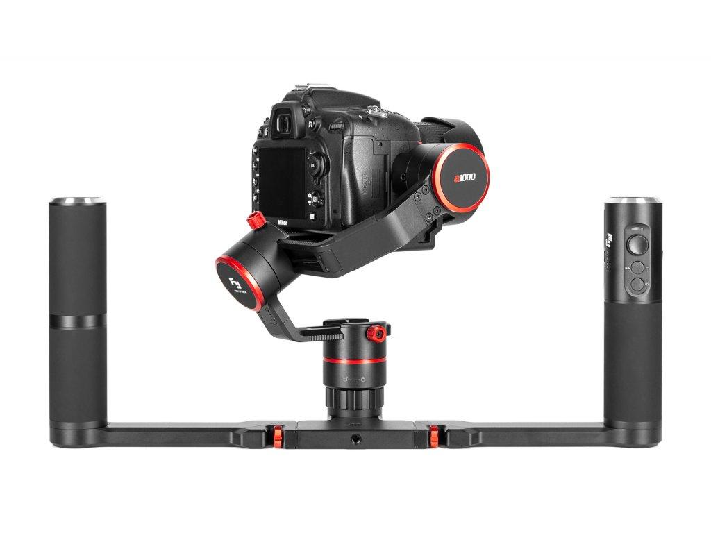 Gimbal ręczny FeiyuTech a1000 Kit Case do aparatów bezlusterkowych 01 HD