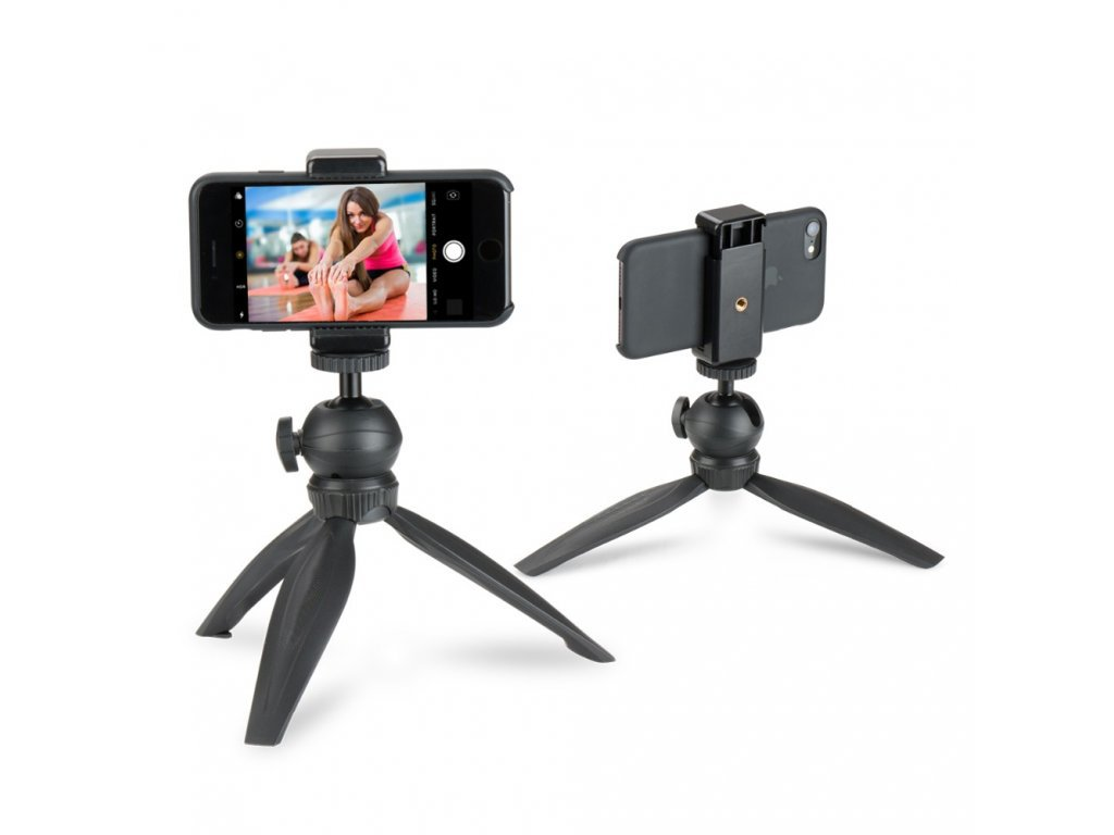 Mini tripod pro mobily, kamery i gimbály
