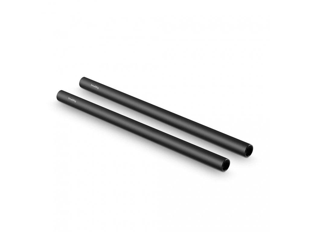 SmallRig 2pcs 15mm Black Aluminum Alloy RodM12 30cm 12inch 1053 10416.1516697293