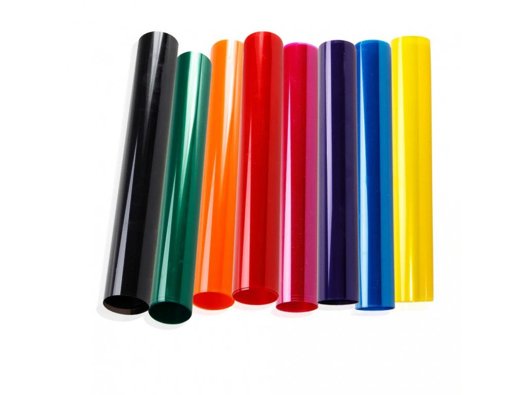 Premium Window Tint Film Colored Window Decorative Film 8 Colors Options 50CM X 152CM
