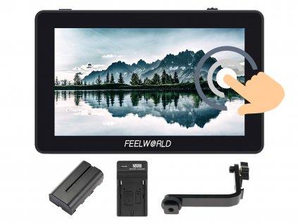 "Feelworld F6 Plus 5,5"" 4K HDMI dotykový kamerový monitor (3D LUT)"