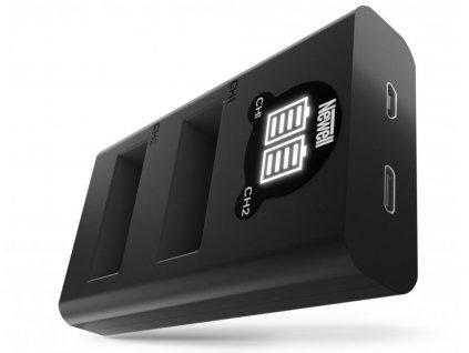 Rychlostní USB-C duální nabíječka PS-BLS5 baterií