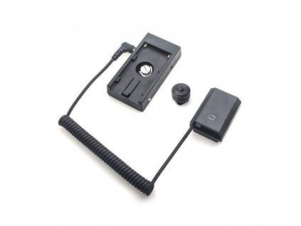 Dummy baterie Sony NP-FZ100 s F970 adaptérem
