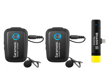 Saramonic BLINK500 B4 bezdrátové mikrofony pro iPhone